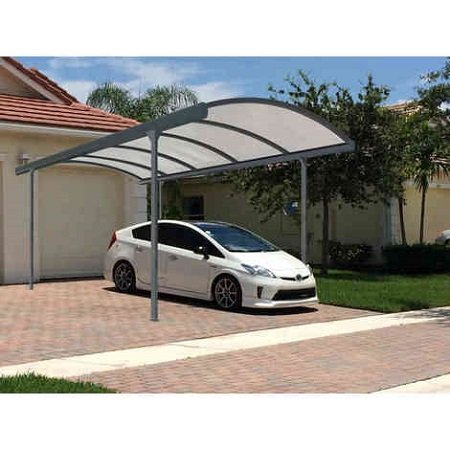 Carport adosse aluminium maison design - Comment replier un bz ...