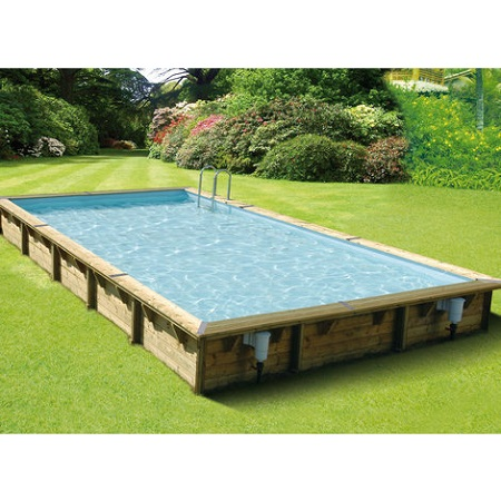 Guide comment choisir sa piscine for Piscine bois rectangulaire